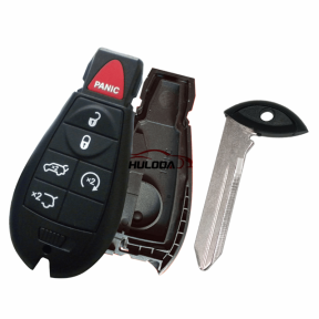 For Chrysler 3+1 button remote key blank New model, without  battery holder