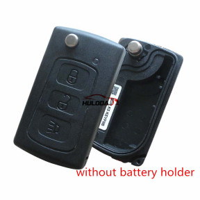 For Great Wall 3 button folding car key shell ,without  battery holder