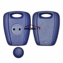 universal transponder key shell MFK for fiat,blue colour