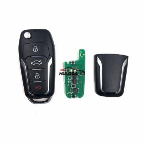 XKFO01 Xhorse VVDI2 Universal 4 Buttons Remote Car Key for Ford MINI Programmer VVDI Key Tool MAX English Version