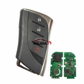For lexus 3+1 Button  Remote Key FSK314mhz-312mhz  toyota H 8A CHIP     FCC ID: HYQ14FBF 0440 #  for  lexus es200260300 LS350 ES300 NX200