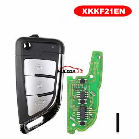 XHORSE Universal KNIFE style flip Wired Remote XKKF21EN for VVDI Key Tool VVDI2