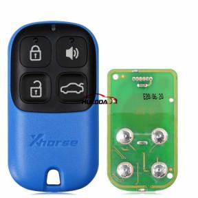 Xhorse XKXH01EN Universal Remote Key 4 Buttons for VVDI2/VVDI Key Tool English Version