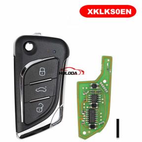 XHORSE VVDI Key Tool VVDI2 Universal flip Wired Remote XKLKS0EN for Lexus stype