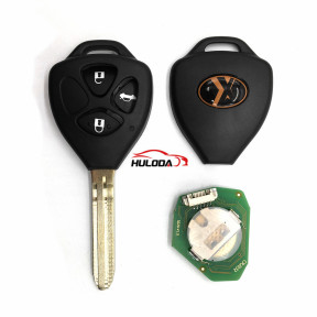Xhorse VVDI2 Universal Remote Key 3 Buttons XKTO03EN Wired  for Toyota Style