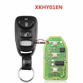 Xhorse VVDI  Universal Remote Key Fob XKHY01EN  4 Button ,for Hyundai Type