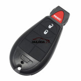 For Chrysler  remote key with 433.92MHZ compatible with  iyzc01c and M3N5WY72XX  , totally 11 model key shell, you please choose which shell you need?
