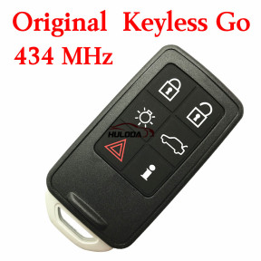 For Volvo keyless go 6 button remote key with 434mhz, PCF7945 chip used on Volvo S60 V60 XC60 S80