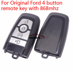 Original For Ford 4 button keyless remote key with 868mhz  HS7T-15K601-CB  FCCID:M3N-A2C93142400