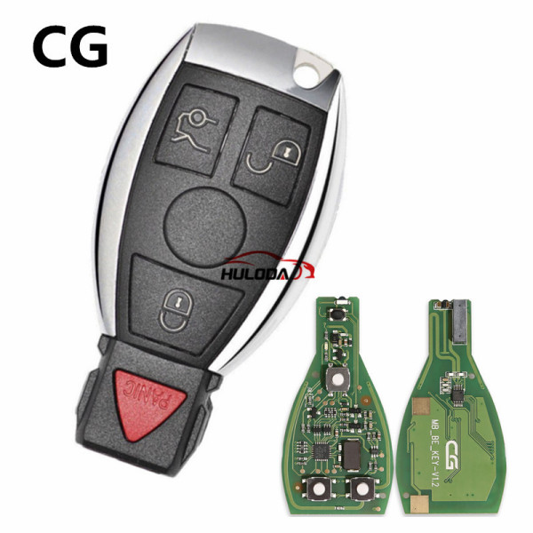 Original CGDI MB CG 3+1 button remote Key for 315MHZ/433M Working with CGDI MB Programmer