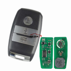 For Kia 2016 Sportage keyless 3 button Smart remote key with 47 chip smart card HITAG3 FSK 433.92Mhz NCF2951X