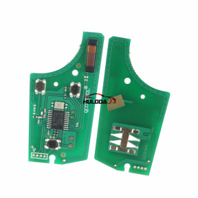 For Opel 2 button flip remote key  with 434mhz with PCF7946 chip  Genuine Part number:93187530