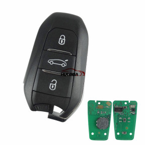 For Peugeot 508 keyless remote key  with 434MHZ with 46 chip PCF7945AC /7953(HITAG2) chip