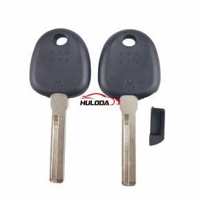 For Hyunda transponder key blank plug type