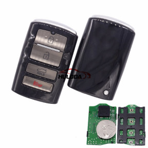 For KIA K7 keyless 4 button remote key with 433mhz FCCID:T08-F08-4F10 IC:5074A-FOB4F10