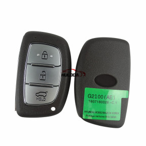 For New Hyundai  G2100(AE) 3 button keyless Smart  remote key with  433mhz Hitag3 47chip