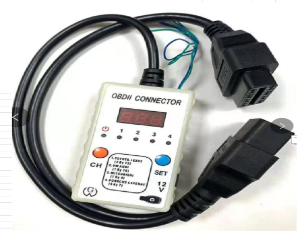 OBDII Voltage connnector bridges pins for vw, audi,toyota,mitsubishi remote programming  Matching keys, or diagnosing a computer module, or failing to communicate, also requires a short-circuit to wake up the computer