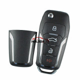For Ford style 3+1 button remote key NB12  For URG200,mini KD and KD-X2 generate new keys ,For produce any model  remote
