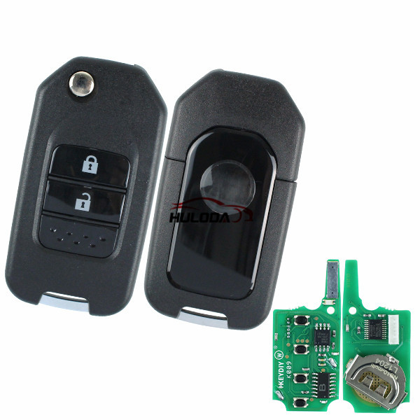 Honda style 3 button keyDIY remote NB10-2 universal used for KD900,URG200,mini KD and KD-X2 generate new keys ,For produce any model  remote