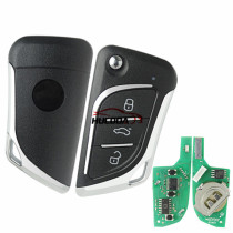 For Bmw style 3 button remote key NB30  For URG200,mini KD and KD-X2 generate new keys ,For produce any model  remote