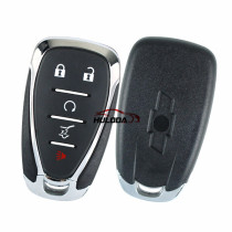 For Chevrolet 4+1 button remote key blank with logo