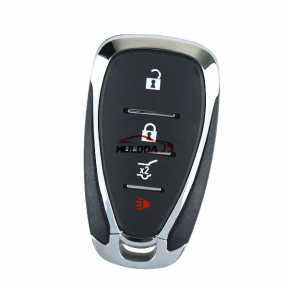 For Chevrolet 3+1 button remote key blank with logo