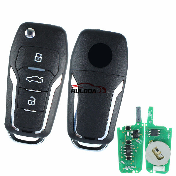 For Ford style 3 button remote key NB12  For URG200,mini KD and KD-X2 generate new keys ,For produce any model  remote