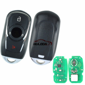 KEYDIY for Buick style ZB22 3 button  smart remote key for KD-X2