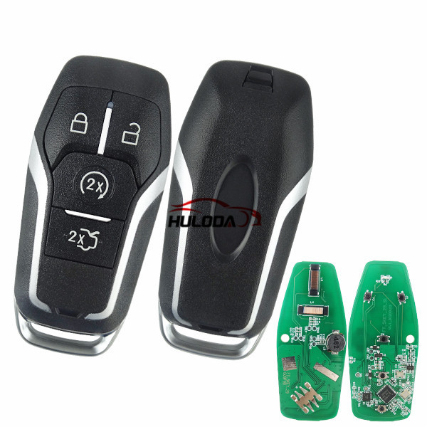 Aftermarket For Ford 4 button  keyless remote key with 868mhz  (Hitag Pro)