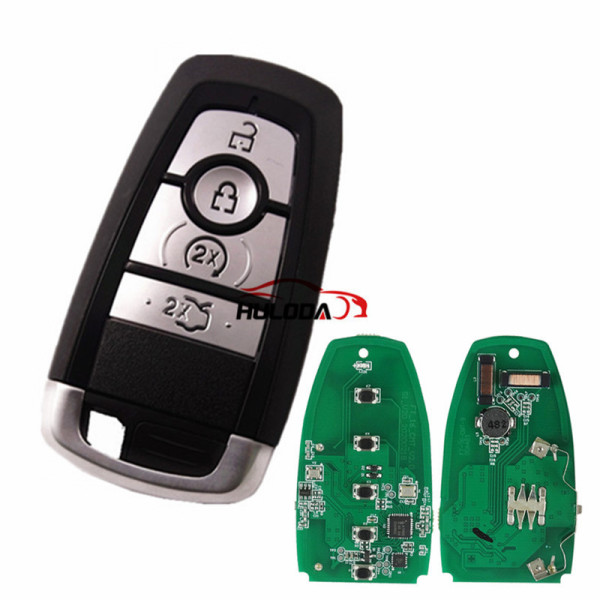 Original For Ford 4 button keyless remote key with 315mhz  HS7T-15K601-CB  FCCID:M3N-A2C93142400 for Ford F-Series 2015-2017