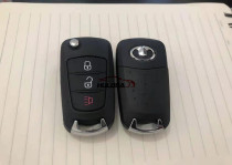 For  Great Wall 2+1 button folding car key shell with logo