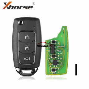 Xhorse VVDI2 XKHY05EN Wired Universal Remote Key Fob 3 Button XKHY05EN for HYUNDAI