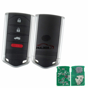 Original for Acura 3+1 button Smarrt remote key with 313.8mhz for 2013-2015 FCC: M3N5WY8145