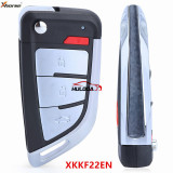 XHORSE UNIVERSAL KNIFE Style FLIP Wired Remote KEY 4 Buttons PN: XKKF22EN  for VVDI2 VVDI Max MINI Tool