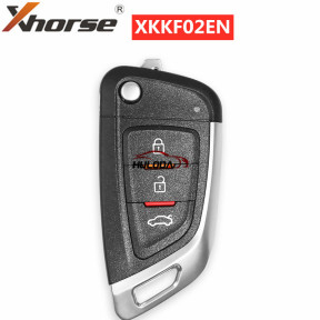 XHORSE XKKF02EN Universal Remote Car Key with 3 Buttons for VVDI Key Tool