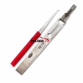 Genuine LISHI NE78 lock pick tools,used for Peugeot 406
