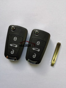 For Great Wall 3-button remote control 433mhz with logo