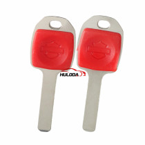 For Harley motor-bike key shell with red color