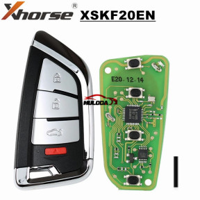 XHORSE UNIVERSAL KNIFE Style FLIP Wired Remote KEY 3 Buttons PN: XSKF20EN for VVDI2 VVDI Max MINI Tool