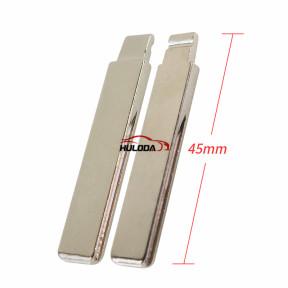 For peugeot  508  flip remote key blade HU83&407 blade