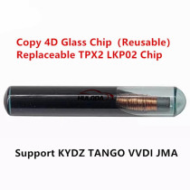 LKP02 glass Chip Copy 4D Chip Replaceable TPX2, LKP02 Chip Support KYDZ TANGO VVDI JMA Machine (Reusable)