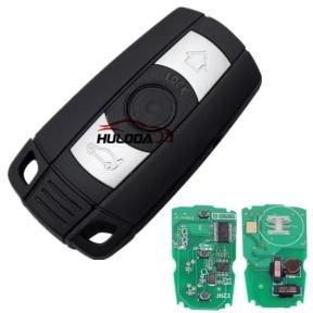 For BMW 3 button KEYLESS remote key for bmw 1、3、5、6、X5,X6,Z4 series with 868MHZ