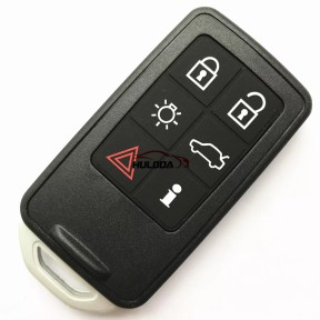 For Volvo keyless go 6 button remote key with 868mhz, PCF7945 chip used on Volvo S60 V60 XC60 S80,The PCB is original