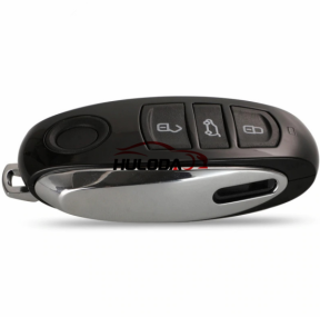 Original for VW Touareg 3 button remote key with 868MHZ