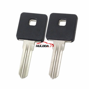 Harley motor key shell with left blade(black colour)