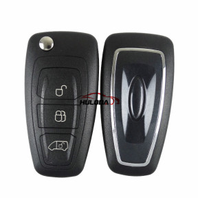 For Ford Focus 3 button flip remote key blank