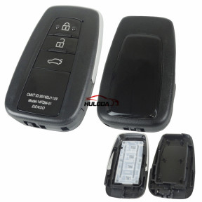 3 button remote key shell,used for all VVDI remote PCB, for Toyota remote ,for Lexus remote
