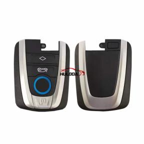 Original For BMW 4 button smart card remote key shell