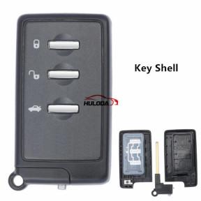 For Subaru Fuji Forester Impreza Legacy XV 3 Buttons  Smart Remote Key Shell