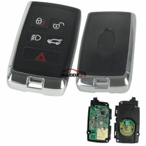 For Landrover freelander 4+1 button remote with 433MHZ with HITAG-PRO(ID49) chip aftermarket 2017-2020 years
